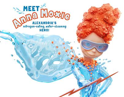 Anna Moxie - Water-cleaning HERO