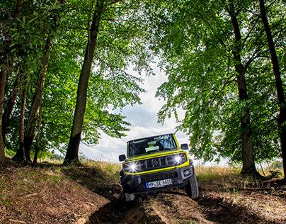 Suzuki Jimny - European PR teaser campaign