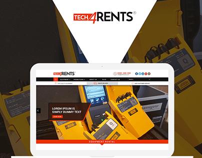 Website UI Designing for TEST & MEASUREMENT EQUIPMENT
