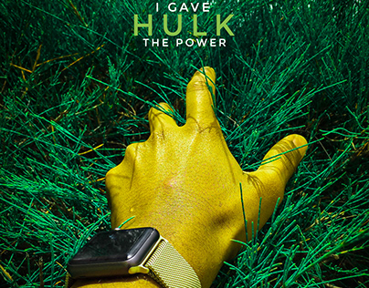 I GAVE HULK THE POWER