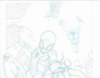 Spiderman, Daredevil and Elektra samples
