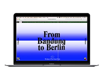 From Bandung to Berlin