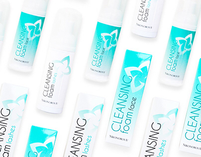 Packaging for Cleansing foam