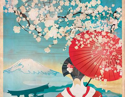 Poster Japan