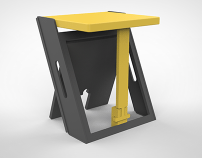 ZED-PACK I Flat Pack Seating Unit I