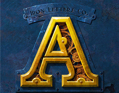 Typography and Calligraphic Works