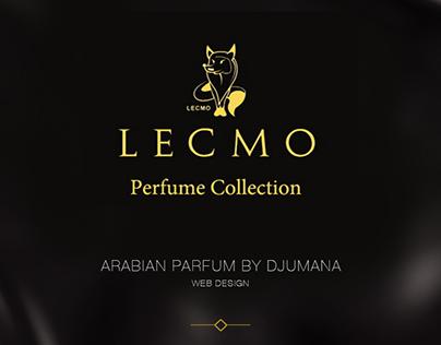 Lecmo  Parfume Web Design
