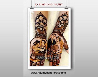 raju mehandi artist in delhi
