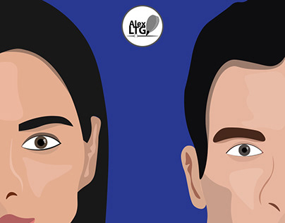 Logo design: She and He