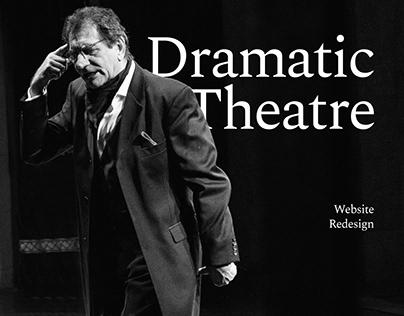 Dramatic Theatre Website Redesign