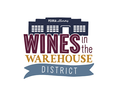 Wines in the Warehouse District Branding