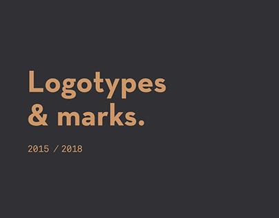 Logotypes & Marks 2015/18