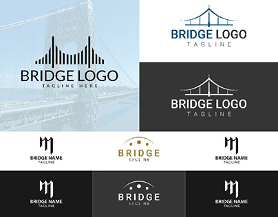 Logo design-Bridge Logo Design idea