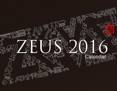 ZEUS 2016 calendar