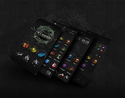 Illusion - Go Launcher Desktop Theme