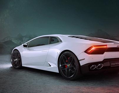 Lamborghini Huracan - The Spaceship - CGI