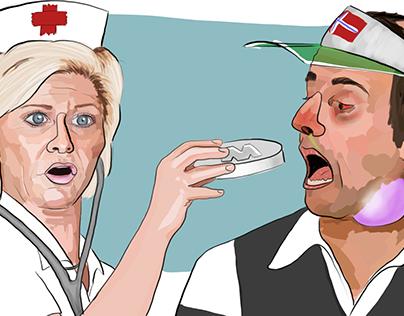 Political Caricatures - 2016