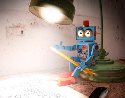 Niket Robot Concept - 3D visual