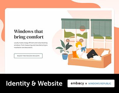 Windows Republic. Website Design