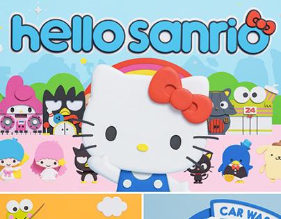 Hello Sanrio! 2017 Stop Motion Animation