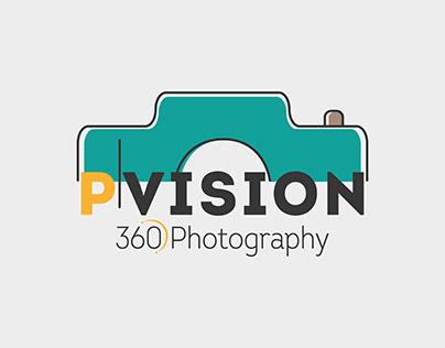 P VISION LOGO DESIGN
