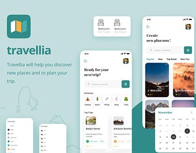 Travellia - Travel Destination Search
