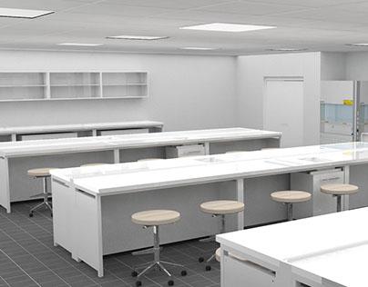 Interior Design: Progettazione di un laboratorio