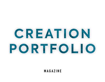 Creation Portfolio - Magazine | Graphic Design