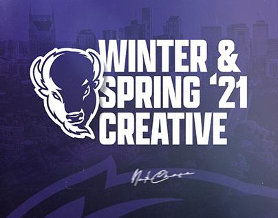 Winter & Spring 2021 Creative - Lipscomb