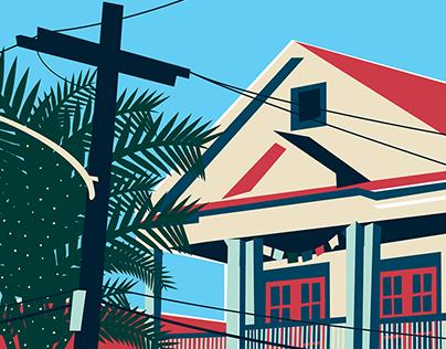 New Orleans, Bayou Saint-Jean