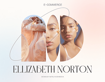 ELLIZABETH NORTON FASHION DESIGNER E-COMMERCE CONCEPT