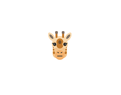CSS Illustration - Giraffe