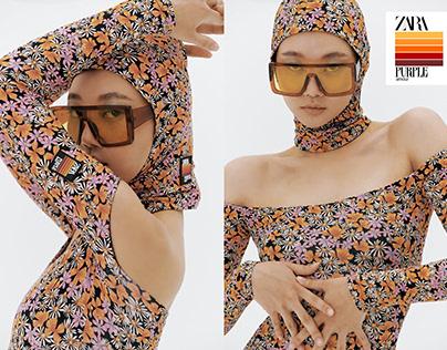 ZARA x Purple Magazine | 'Solar' by Cifika