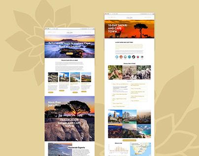 Cape Town at its Best Website Design