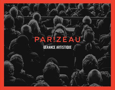 Parizeau Gérance Artistique _ Logo