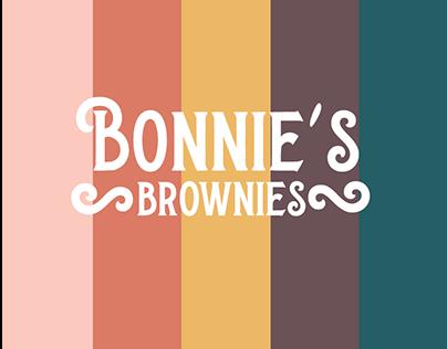Bonnie's Brownies Branding