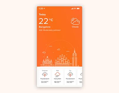 Building Control app. IOT (UI/UX)