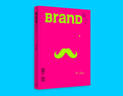 "BranD MAGAZINE issue 24 ""MR PAPER"""