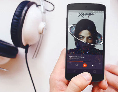 Music Player Android 5.0 Lollipop