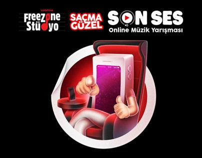 Vodafone FreeZone - SonSes Online Müzik Yarışması
