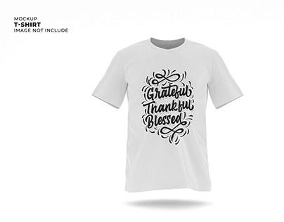 Front View T-Shirt Mockup