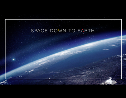"""""""Space Down To Earth"""" Show Graphics"""