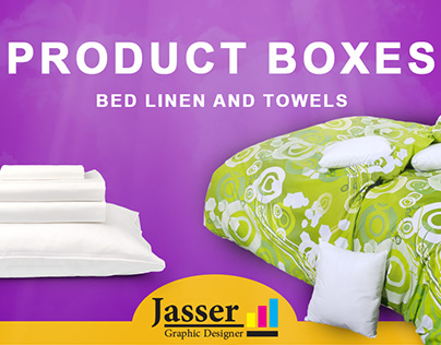 Product Box &bed linen and towels vol 3