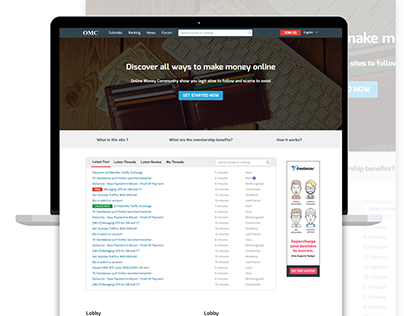 OMC - Responsive Reviews comparison website