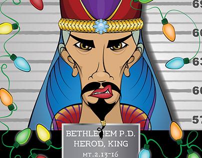 King Herod's Mugshot