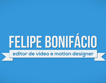 CV Motion Graphics | Felipe Bonifácio
