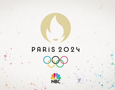 Paris 2024 Olympics + NBC Commercial Concept