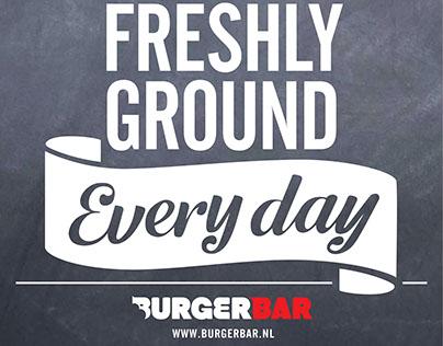 new work for burgerbar amsterdam