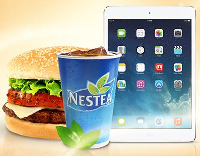 Campaña Nestea® y Sayonara® - Rifa iPad mini