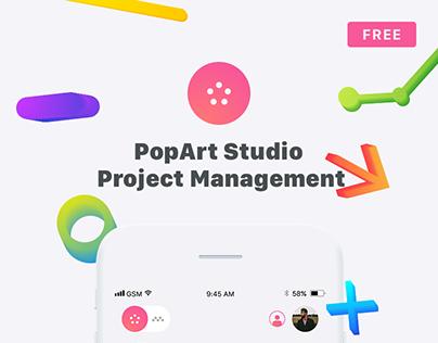 PopArt Client Management Mobile App